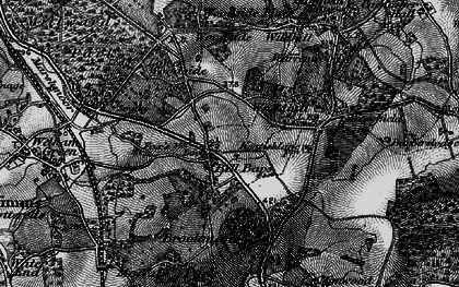 Old map of Bell Bar in 1896