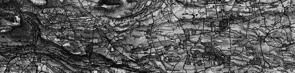 Old map of Bellerby in 1897