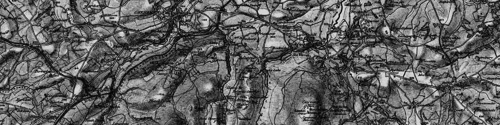 Old map of Westlake in 1898
