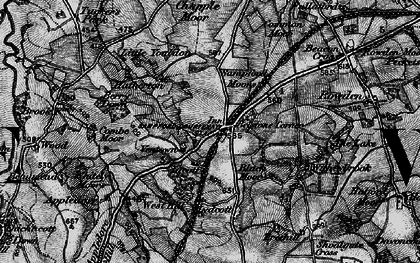 Old map of Witheybrook in 1898