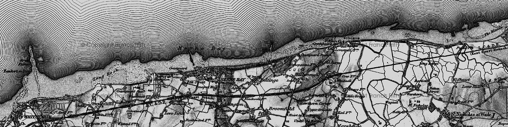 Old map of Beltinge in 1894