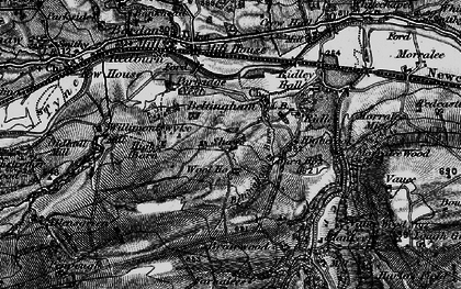 Old map of Wool Ho in 1897