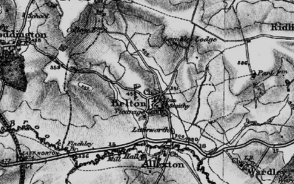 Old map of Belton-in-Rutland in 1899