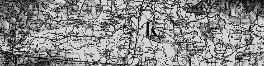 Old map of Lily Hoo in 1895