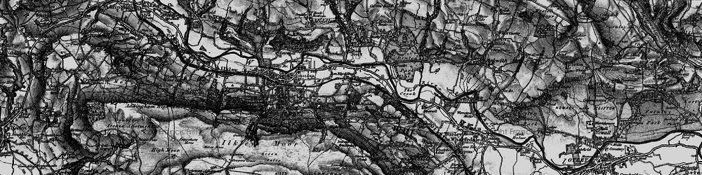 Old map of West Park Wood in 1898