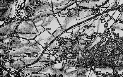 Old map of Berkley Marsh in 1898
