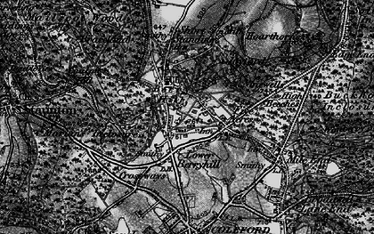 Old map of Berry Hill in 1896