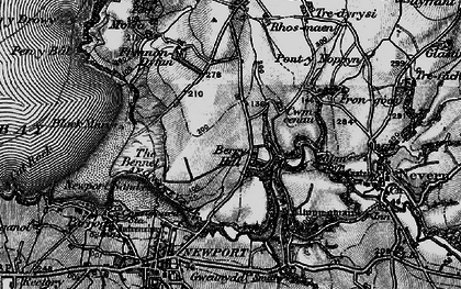 Old map of Berry Hill in 1898