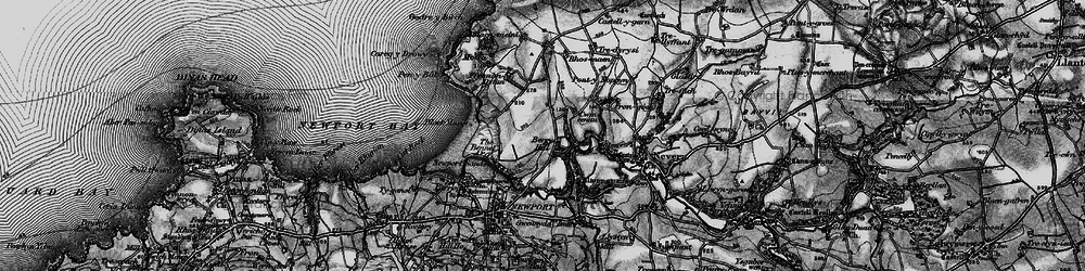 Old map of Wynston in 1898