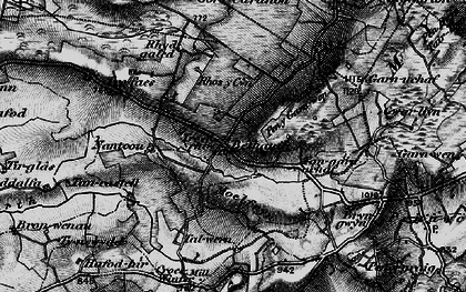 Old map of Bethania in 1898