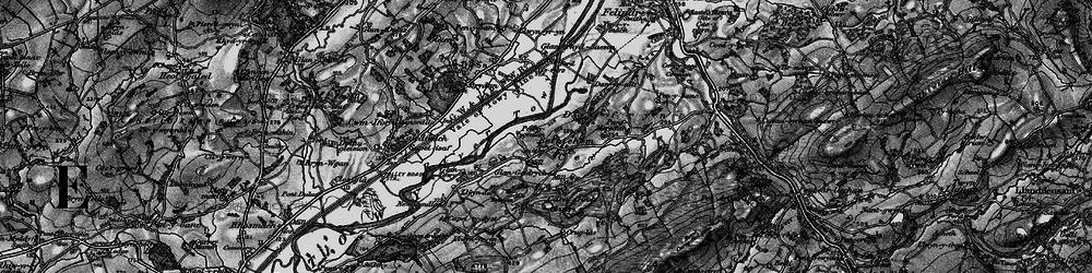 Old map of Y Caer fawr in 1898