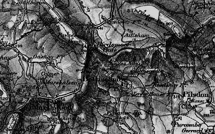 Old map of Bettiscombe in 1898