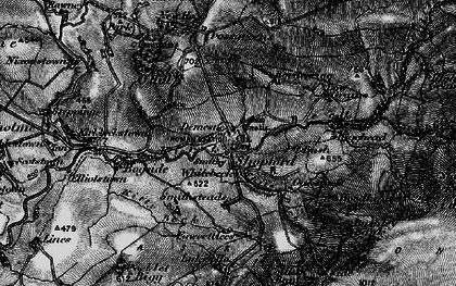Old map of Ashy Cleugh in 1897