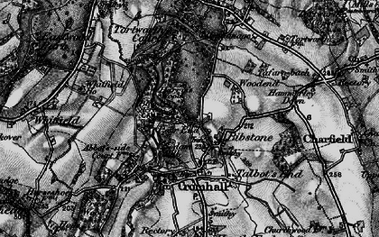 Old map of Bibstone in 1897