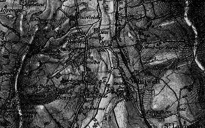Old map of Wydcombe in 1895