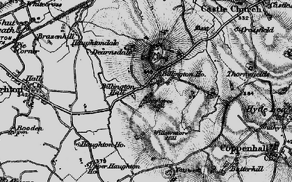 Old map of Appletree Hill in 1897