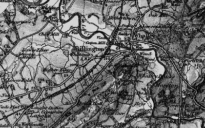 Old map of Billington in 1898
