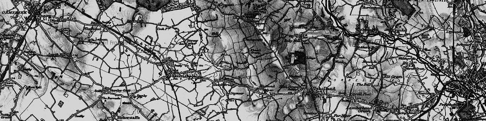 Old map of Birch Green in 1896