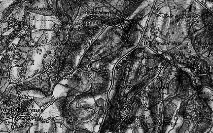 Old map of Westlands in 1895