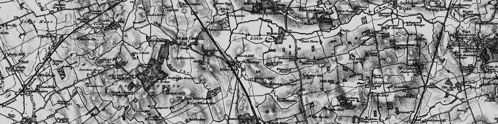 Old map of Wiske Ho in 1898