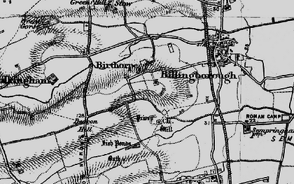 Old map of Birthorpe in 1895