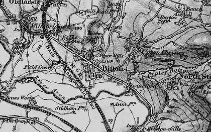Old map of Bitton in 1898
