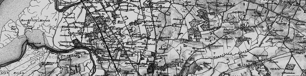 Old map of Whamtown in 1897