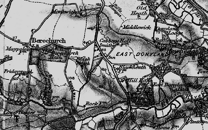 Old map of Blackheath in 1896