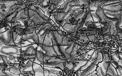 Old map of Blackmoor in 1898