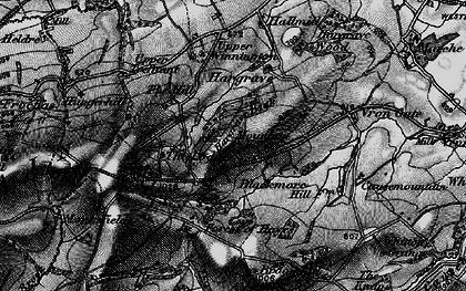 Old map of Winnington in 1899
