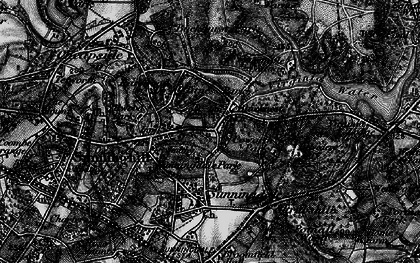 Old map of Titness Park in 1896