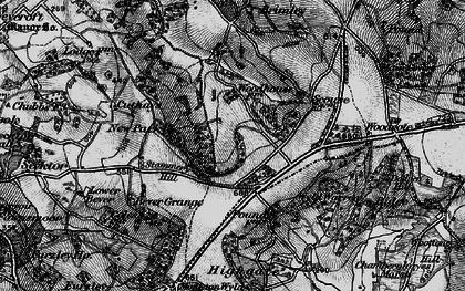 Old map of Wyld Warren in 1898