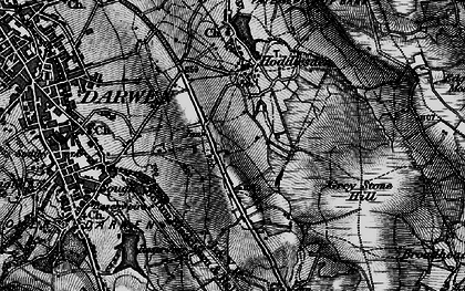 Old map of Blacksnape in 1896