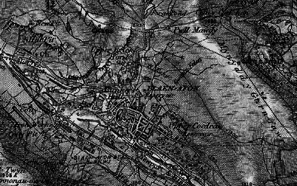 Old map of Blaenavon in 1897