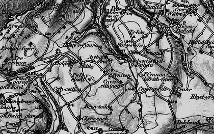 Old map of Arthach in 1898