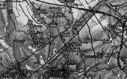 Old map of Bledlow in 1895