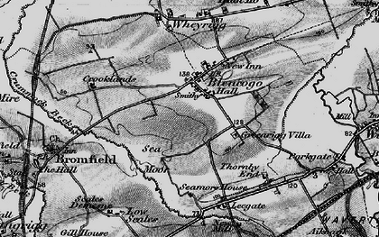 Old map of Leegate Ho in 1897