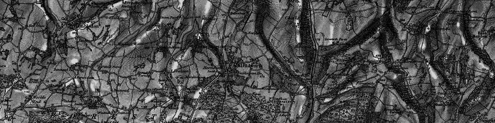 Old map of Blendworth in 1895