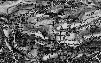 Old map of Bloomfield in 1898