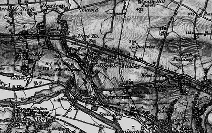 Old map of Blucher in 1897