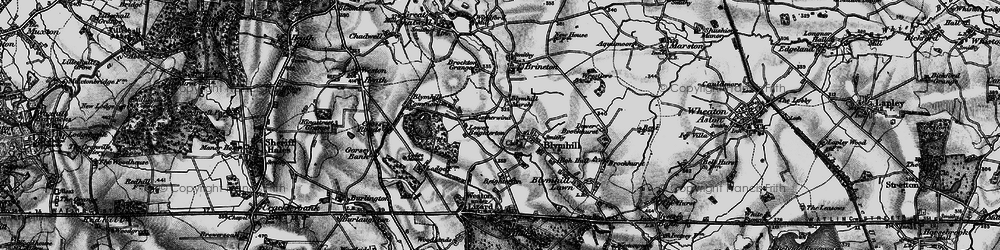 Old map of White Sitch in 1897