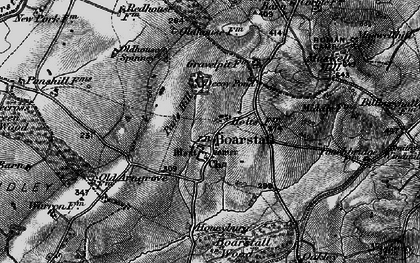 Old map of Whitecross Green Wood in 1896