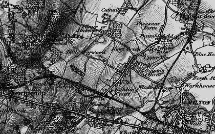 Old map of Bobbing in 1895