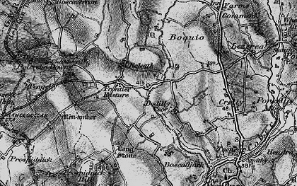 Old map of Bodilly in 1895