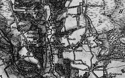 Old map of Boldre in 1895