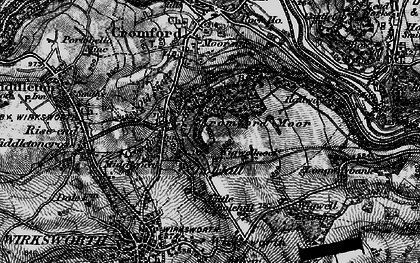 Old map of Wigwellnook in 1896