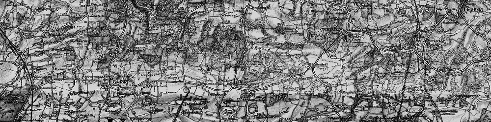 Old map of Wykehurst Park in 1895