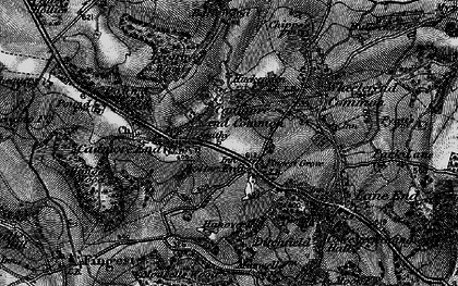 Old map of Bolter End in 1895