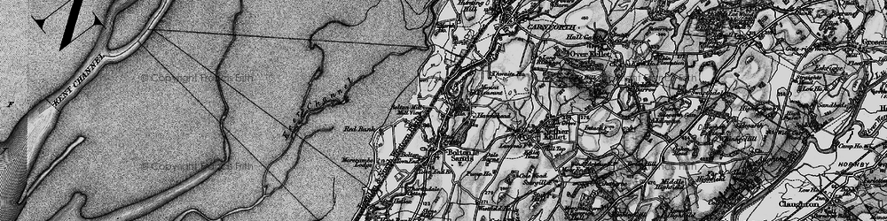 Old map of Wild Duck Hall in 1898