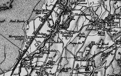Old map of Bolton Town End in 1898
